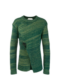 Jersey con cuello circular verde de Namacheko