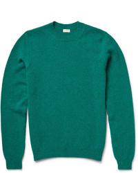 Jersey con cuello circular verde de Paul Smith