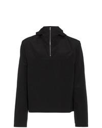 Jersey con cuello vuelto holgado negro de Mackintosh 0002