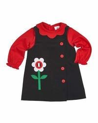 Jersey con print de flores negro