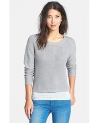 Jersey corto de punto gris de Dex