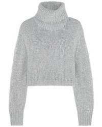 Jersey corto de punto gris de Dion Lee
