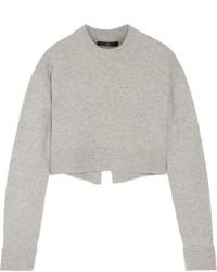 Jersey corto de punto gris de Tibi