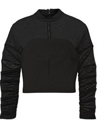 Jersey corto negro de Balenciaga