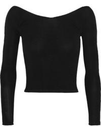 Jersey corto negro