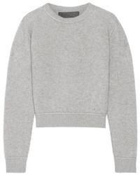 Jersey de cachemir gris de The Elder Statesman