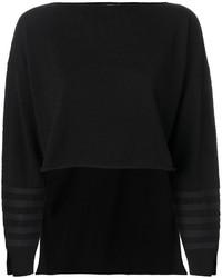 Jersey de cachemir negro de Sonia Rykiel