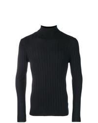 Jersey de cuello alto azul marino de Barena
