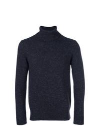 Jersey de cuello alto azul marino de Circolo 1901