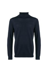 Jersey de cuello alto azul marino de Closed