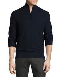 Jersey de cuello alto con cremallera azul marino de Ralph Lauren