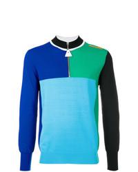 Jersey de cuello alto con cremallera en multicolor de Kenzo