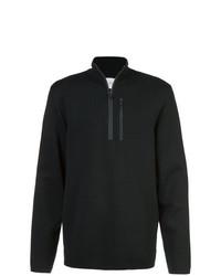 Jersey de cuello alto con cremallera negro de Aztech Mountain