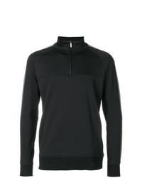 Jersey de cuello alto con cremallera negro de Calvin Klein Jeans