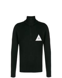 Jersey de cuello alto con cremallera negro de Gosha Rubchinskiy
