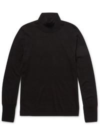 Jersey de cuello alto de lana negro de Acne Studios