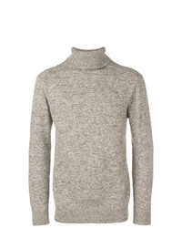Jersey de cuello alto de punto gris de Circolo 1901