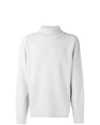Jersey de cuello alto de punto gris de Tom Ford