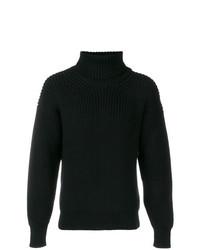 Jersey de Cuello Alto de Punto Negro de Tom Ford