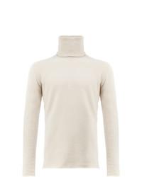 Jersey de cuello alto en beige de Label Under Construction