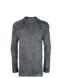 Jersey de cuello alto en gris oscuro de Avant Toi