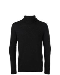 Jersey de cuello alto en gris oscuro de Circolo 1901