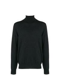 Jersey de cuello alto en gris oscuro de Maison Margiela