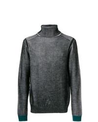 Jersey de cuello alto en gris oscuro de Ps By Paul Smith