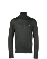 Jersey de cuello alto en gris oscuro de Vivienne Westwood