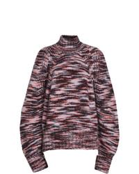 Jersey de cuello alto estampado en multicolor de Burberry