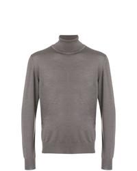Jersey de cuello alto gris de Brioni