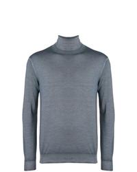 Jersey de cuello alto gris de Dell'oglio