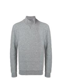 Jersey de cuello alto gris de Ermenegildo Zegna Couture