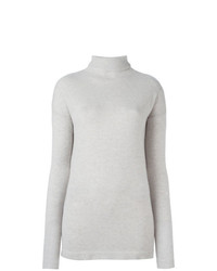 Jersey de cuello alto gris de Fashion Clinic Timeless