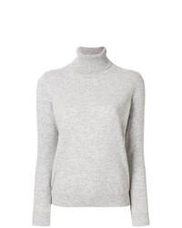 Jersey de cuello alto gris de N.Peal