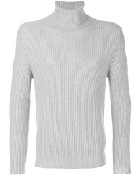 Jersey de Cuello Alto Gris de Tom Ford