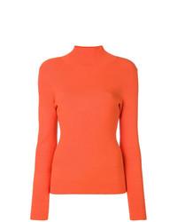Jersey de cuello alto naranja de Études