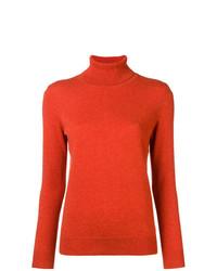 Jersey de cuello alto naranja de N.Peal