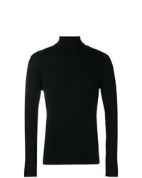 Jersey de cuello alto negro de Barena