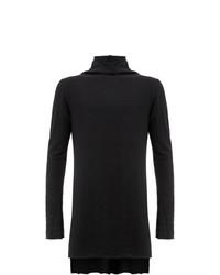 Jersey de cuello alto negro de Cedric Jacquemyn