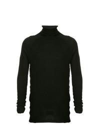 Jersey de cuello alto negro de Forme D'expression