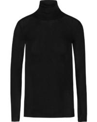 Jersey de cuello alto negro de Gucci
