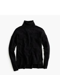 Jersey de Cuello Alto Negro de J.Crew