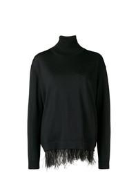 Jersey de cuello alto negro de P.A.R.O.S.H.