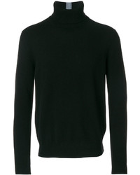 Jersey de cuello alto negro de Paul Smith
