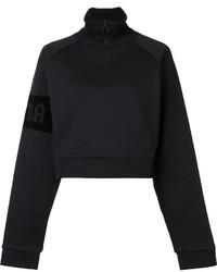 Jersey de cuello alto negro de Puma