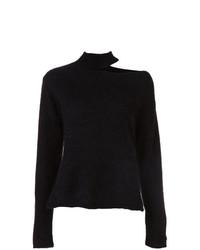 Jersey de cuello alto negro de RtA