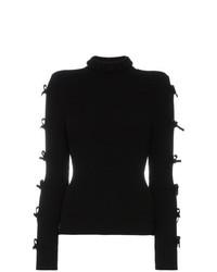 Jersey de cuello alto negro de Shushu/Tong