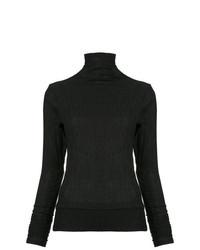 Jersey de cuello alto negro de Taylor