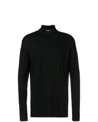 Jersey de cuello alto negro de Yohji Yamamoto